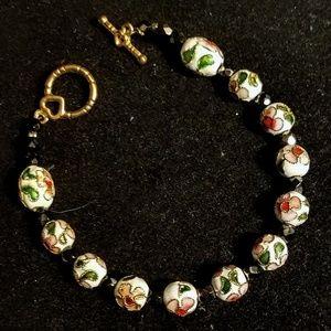 Jewelry - Vintage 1970's Cloisone bracelet